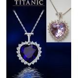Colier  cristal model Titanic